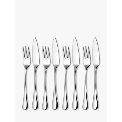 Robert Welch Radford Fish Eaters Forks and Knives, 8 Piece