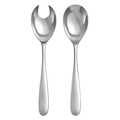 Buy Robert Welch Stanton Salad Servers, 2 Piece Online at johnlewis.com