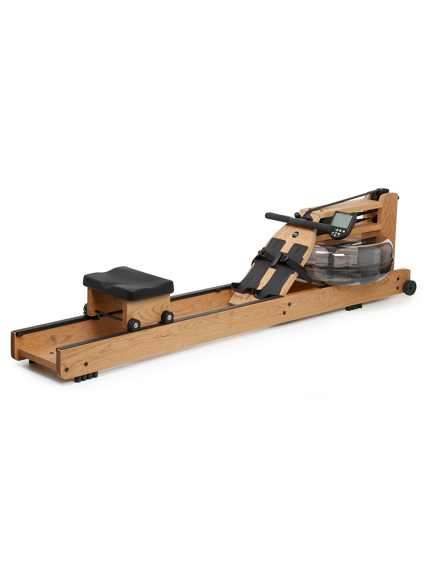 WaterRower Oxbridge Rowing Machine with S4 Performance Monitor, Cherry Wood