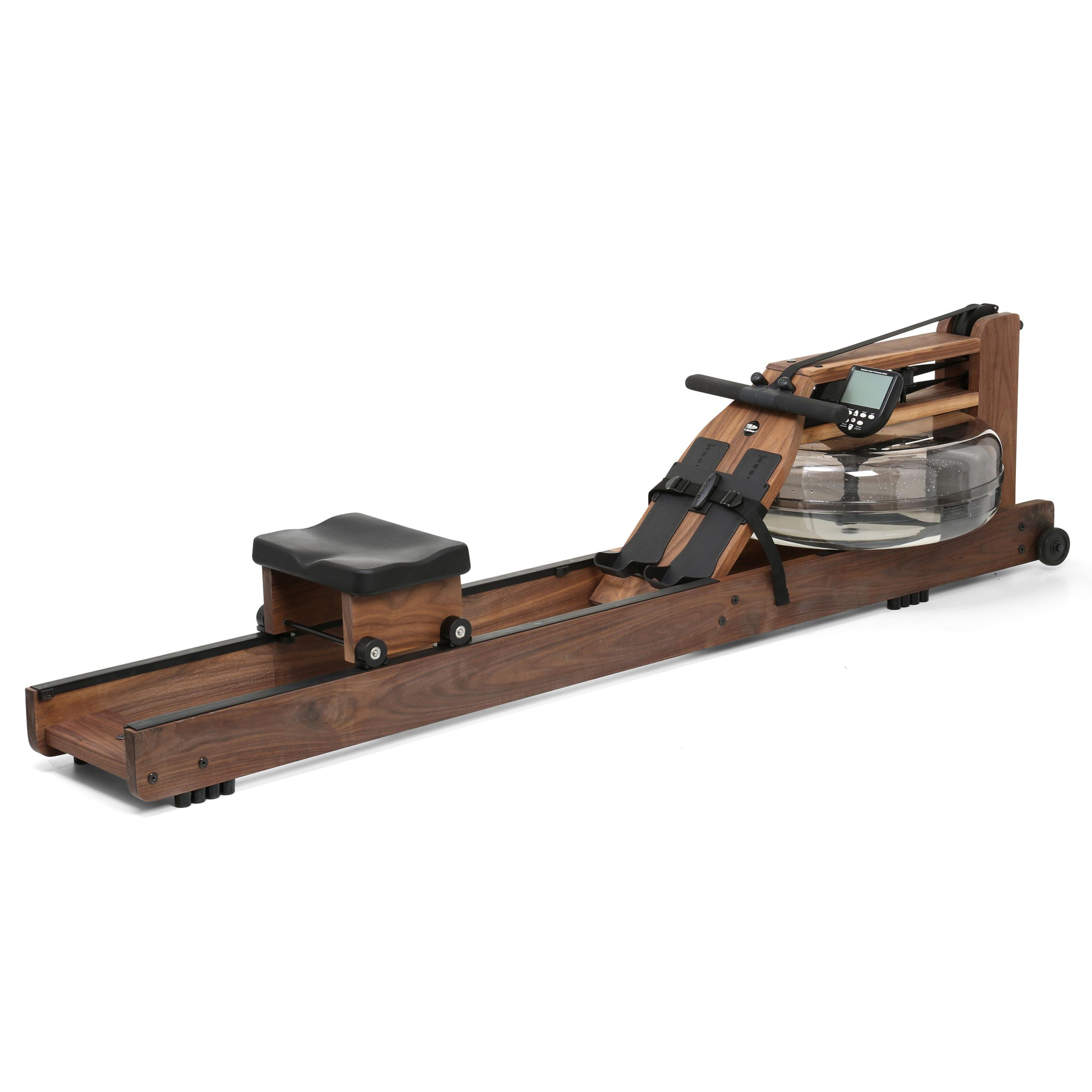 Waterrower Classic Rowing Machine With S4 Performance Monitor American Black Walnut