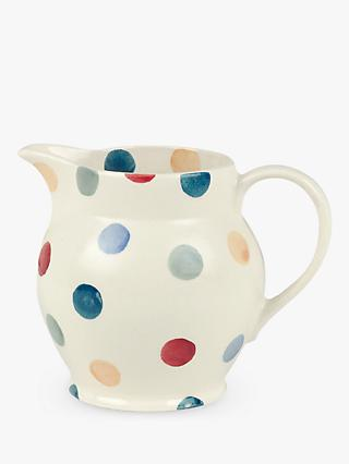 Emma Bridgewater Polka Dot Half Pint Jug, Multi, 300ml