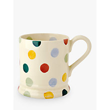 Buy Emma Bridgewater Polka Dot Mug, Multi, 285ml Online at johnlewis.com