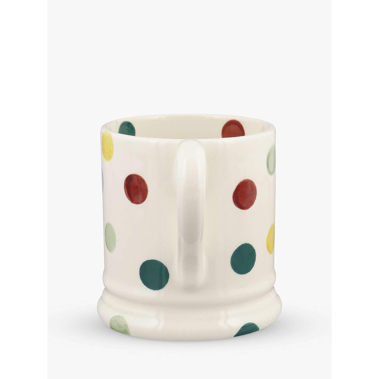 Fabulous Emma Bridgewater Polka Dot Mug, Multi, 285ml at John Lewis HR21