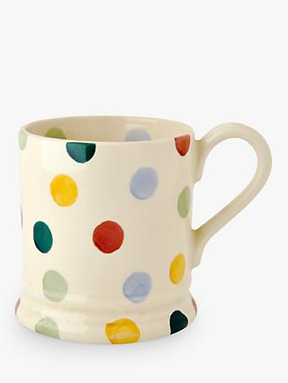 Emma Bridgewater Polka Dot Mug, Multi, 285ml