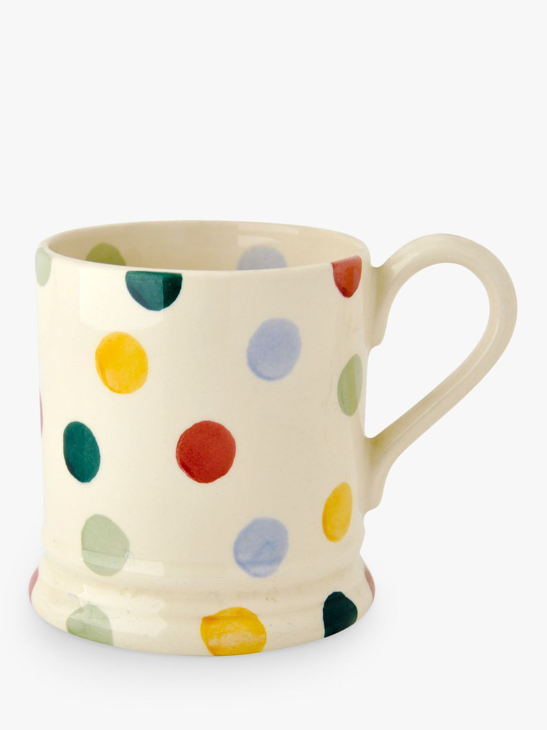 Emma Bridgewater Emma Bridgewater Polka Dot Mug, Multi, 285ml