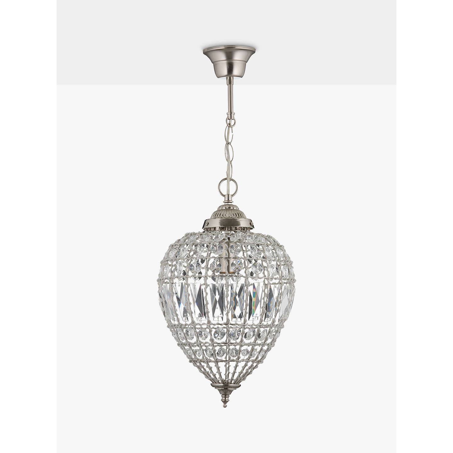 decorators linen lights shade home polished beads dangling chandelier collection drum white nickel pendant glass light with and p