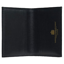 Buy Launer Premium Leather Card Case, Black Online at johnlewis.com