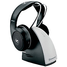 Buy Sennheiser RS120 Wireless Over-Ear, Full Size Headphones, Black Online at johnlewis.com