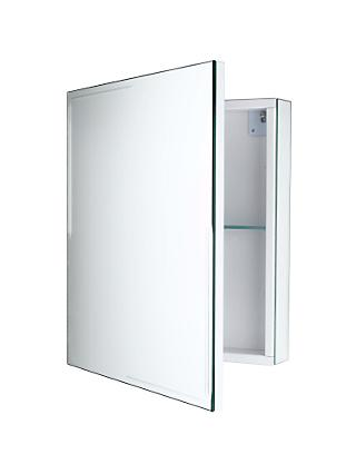 John Lewis & Partners Ice Mirrored Cabinet