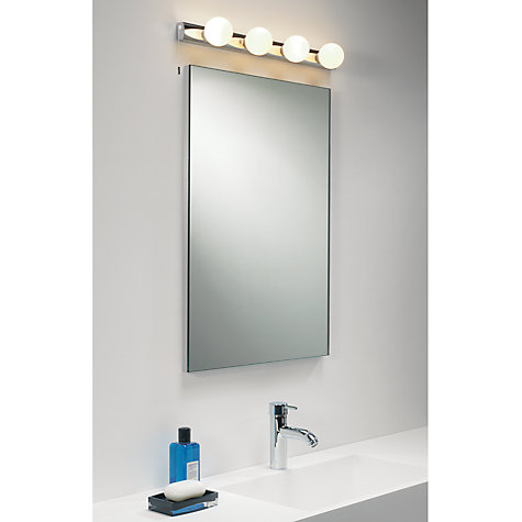 Bathroom Mirror Lights John Lewis buy astro cabaret bathroom wall bar | john lewis
