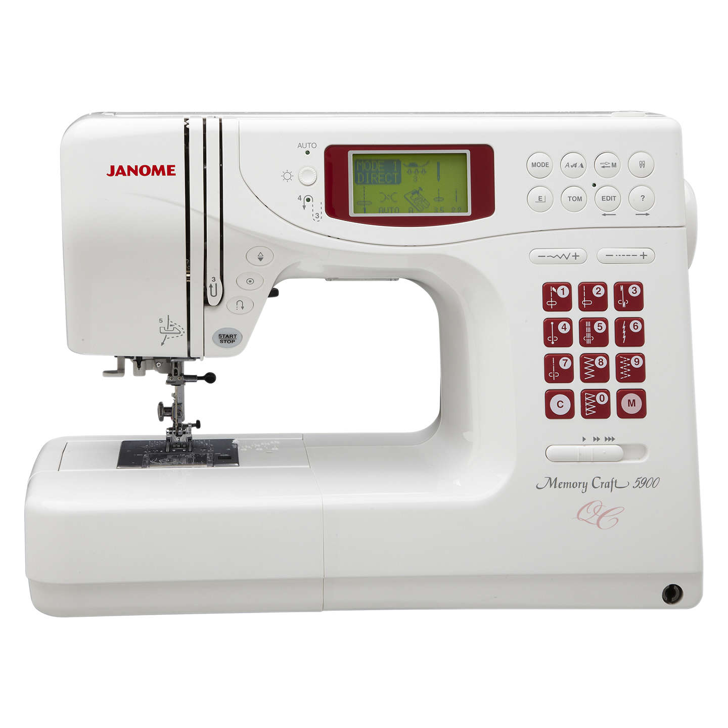 sew sewing machine n vac janome blows quilting quilt computerized