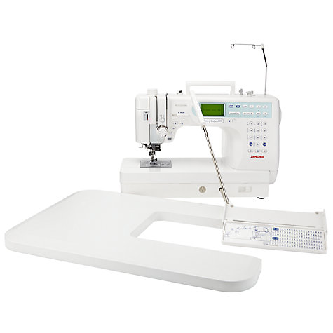 Buy Janome Memory Craft 6600P Sewing Machine Online at johnlewis.com