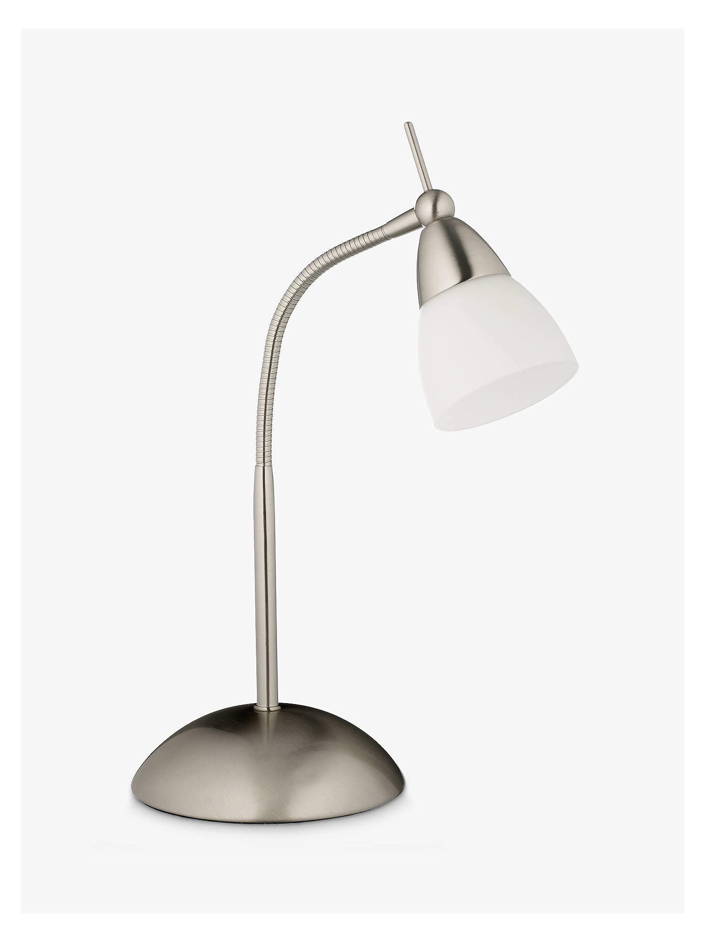Buy John Lewis & Partners Contact Touch Task Lamp, Chrome Online at johnlewis.com