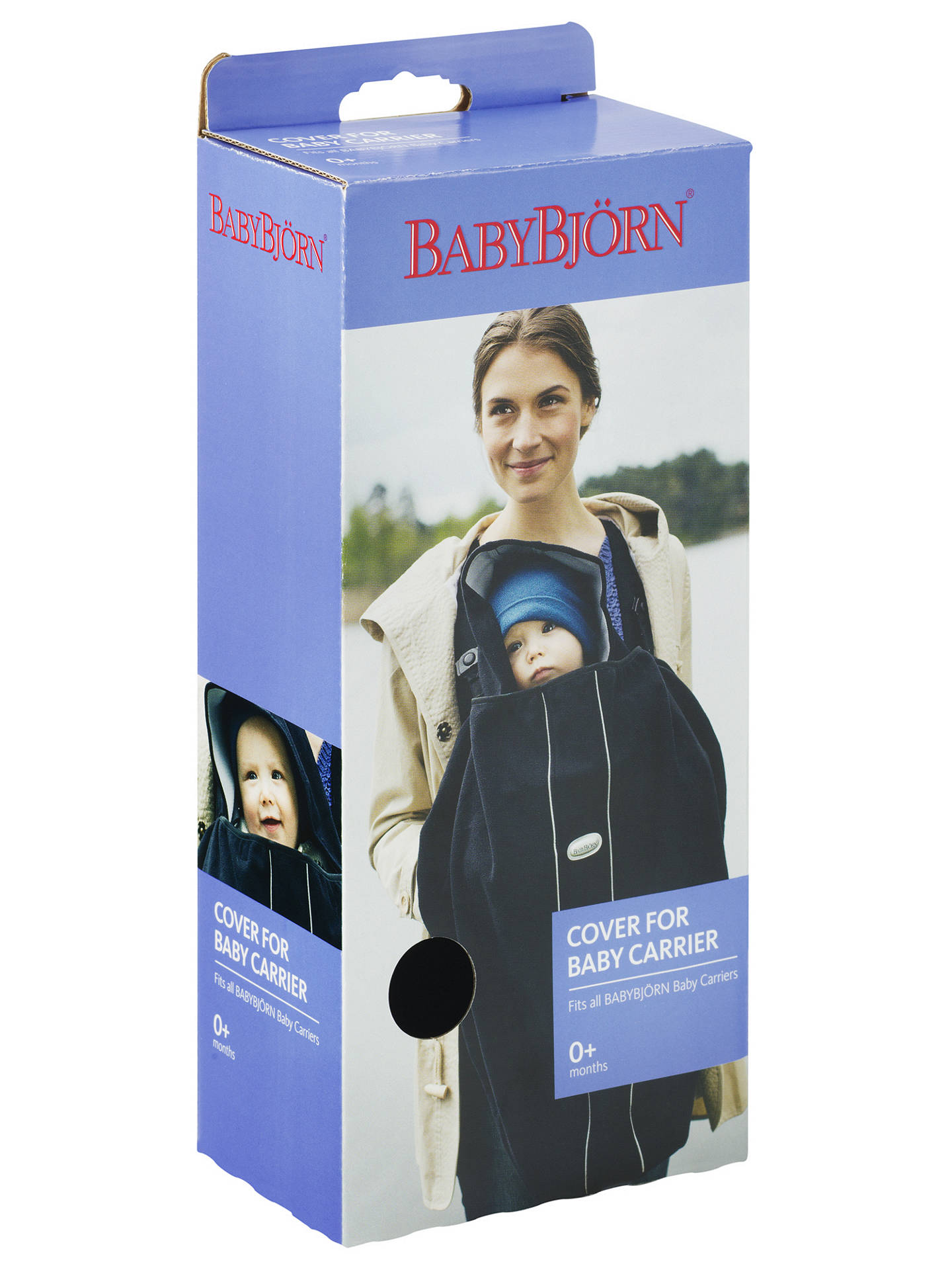 BuyBabyBjörn Cover for Baby Carrier, City Black Online at johnlewis.com