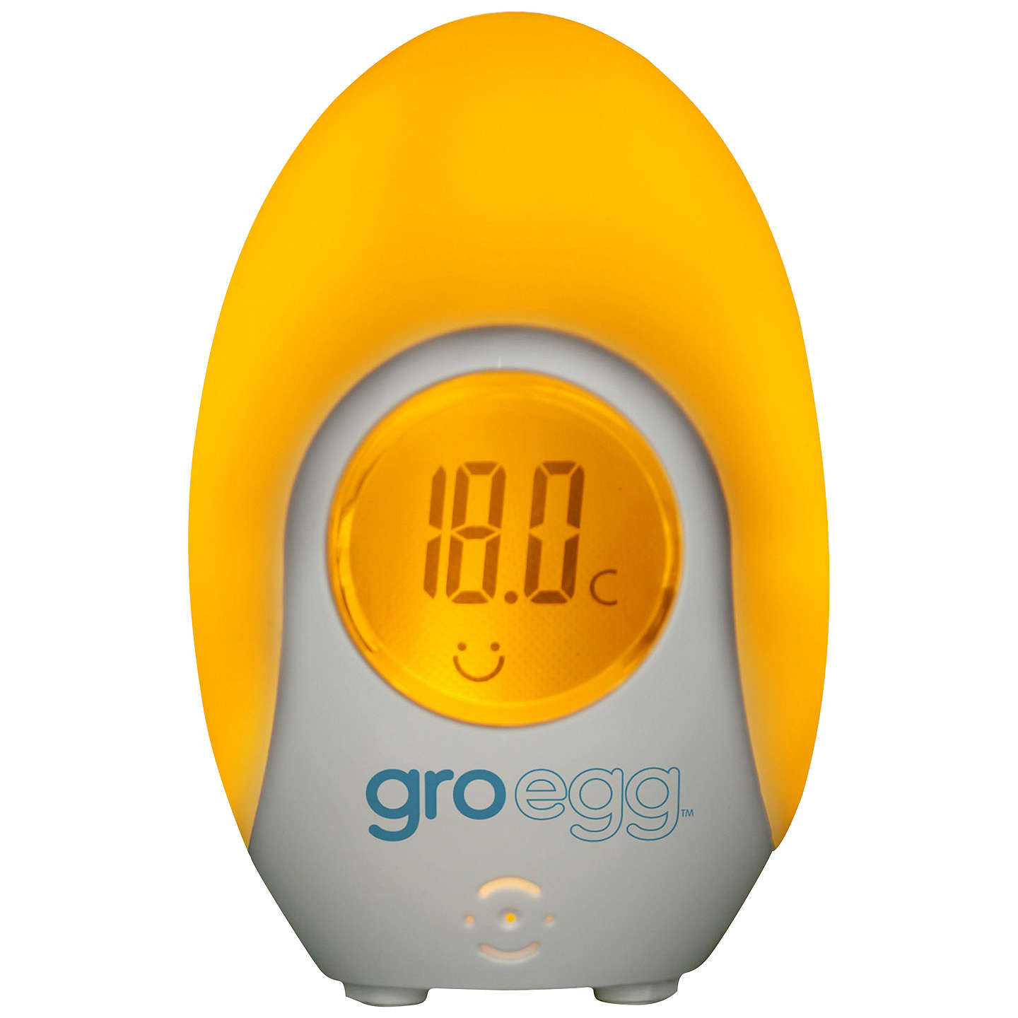 BuyGro Company Gro Egg Baby Thermometer and Night Light Online at johnlewis.com