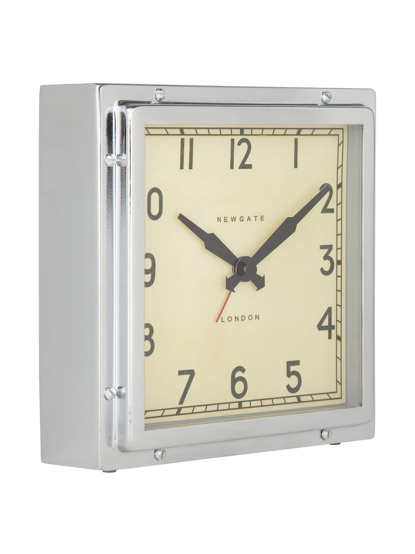 Newgate Mini Quad Clock Chrome At John Lewis Partners