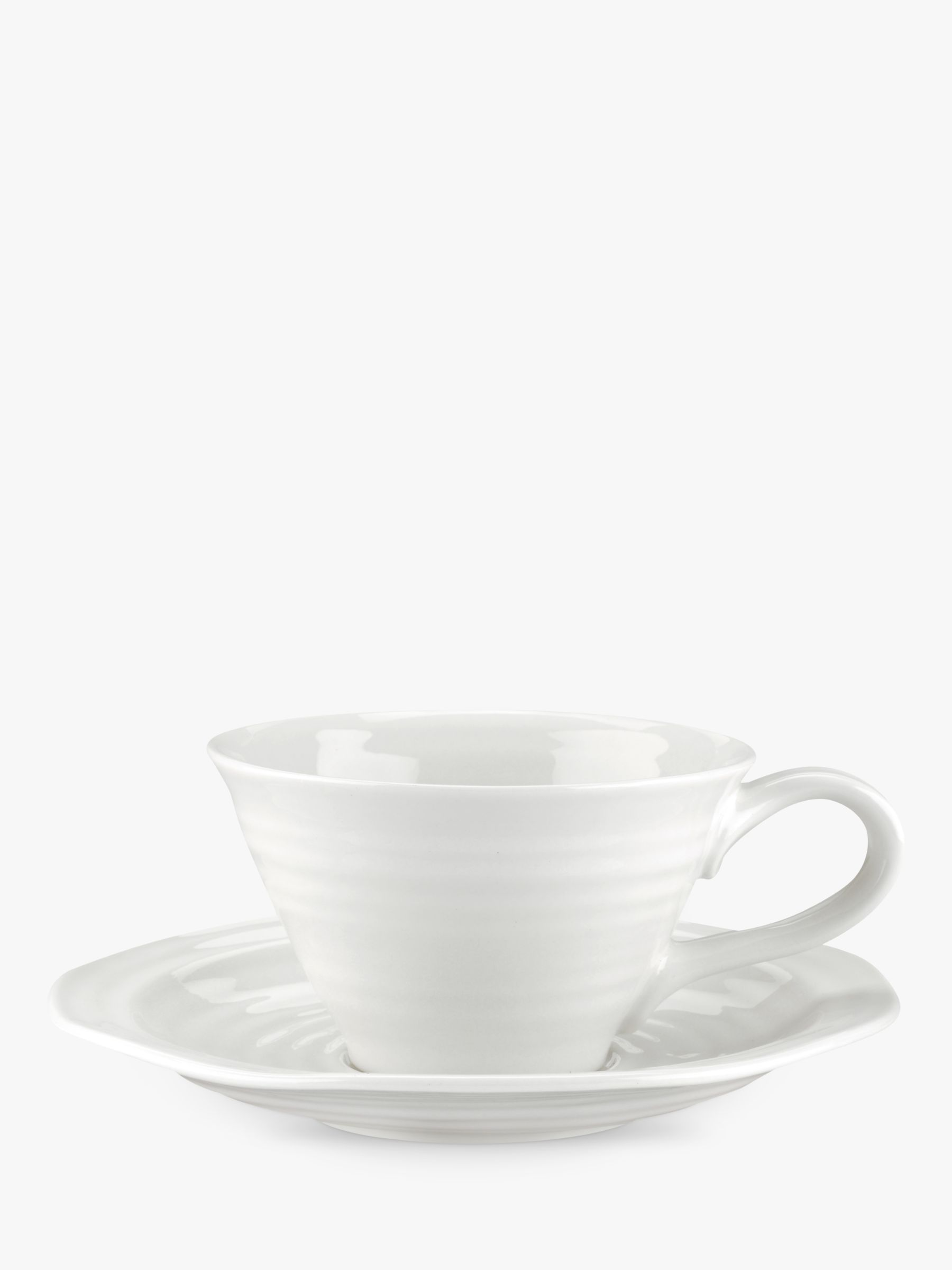 Sophie Conran for Portmeirion Sophie Conran for Portmeirion Tea Cup and Saucer, White