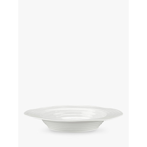 Buy Sophie Conran for Portmeirion 25cm Soup Plate, White Online at johnlewis.com