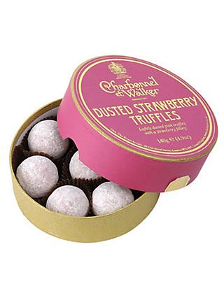 Charbonnel et Walker Strawberry Truffles, 135g