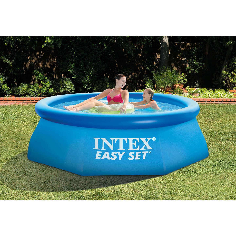 intex easy set pool. BuyEasy Set Pool, 8ft Online At Johnlewis.com Intex Easy Pool
