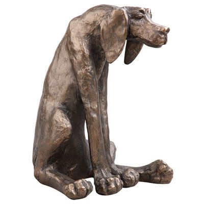 Frith Sculpture Frith Sculpture Sidney Dog by Paul Jenkins, H29.5cm