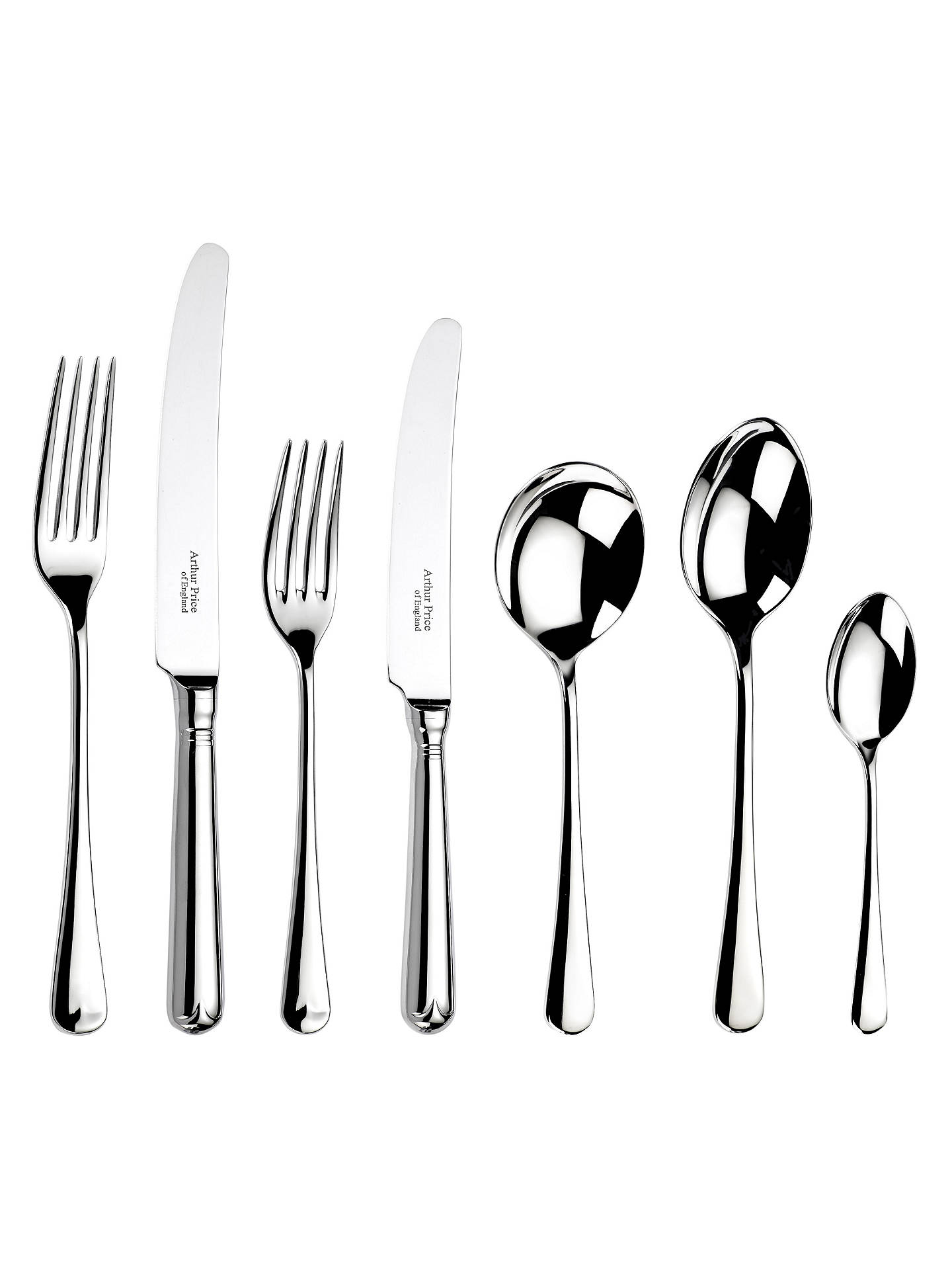 Buy Arthur Price Old English Cutlery Canteen, 60 Piece Online at johnlewis.com