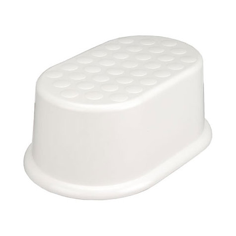 Buy John Lewis The Basics Fixed Step Stool, White Online at johnlewis.com