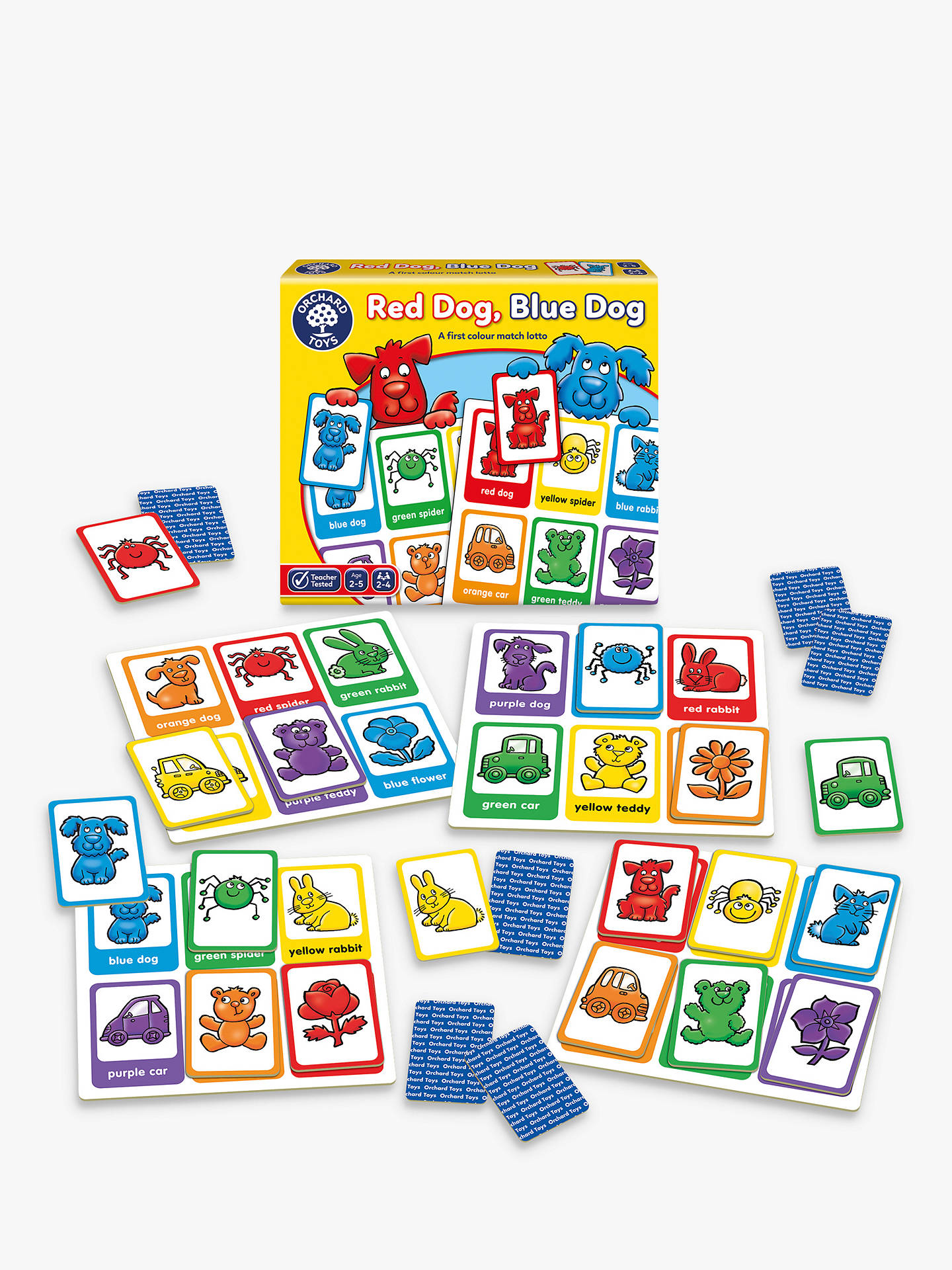 BuyOrchard Toys Red Dog Blue Dog Colour Match Game Online at johnlewis.com