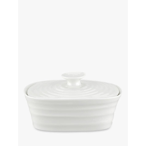Buy Sophie Conran for Portmeirion Butter Dish, White Online at johnlewis.com