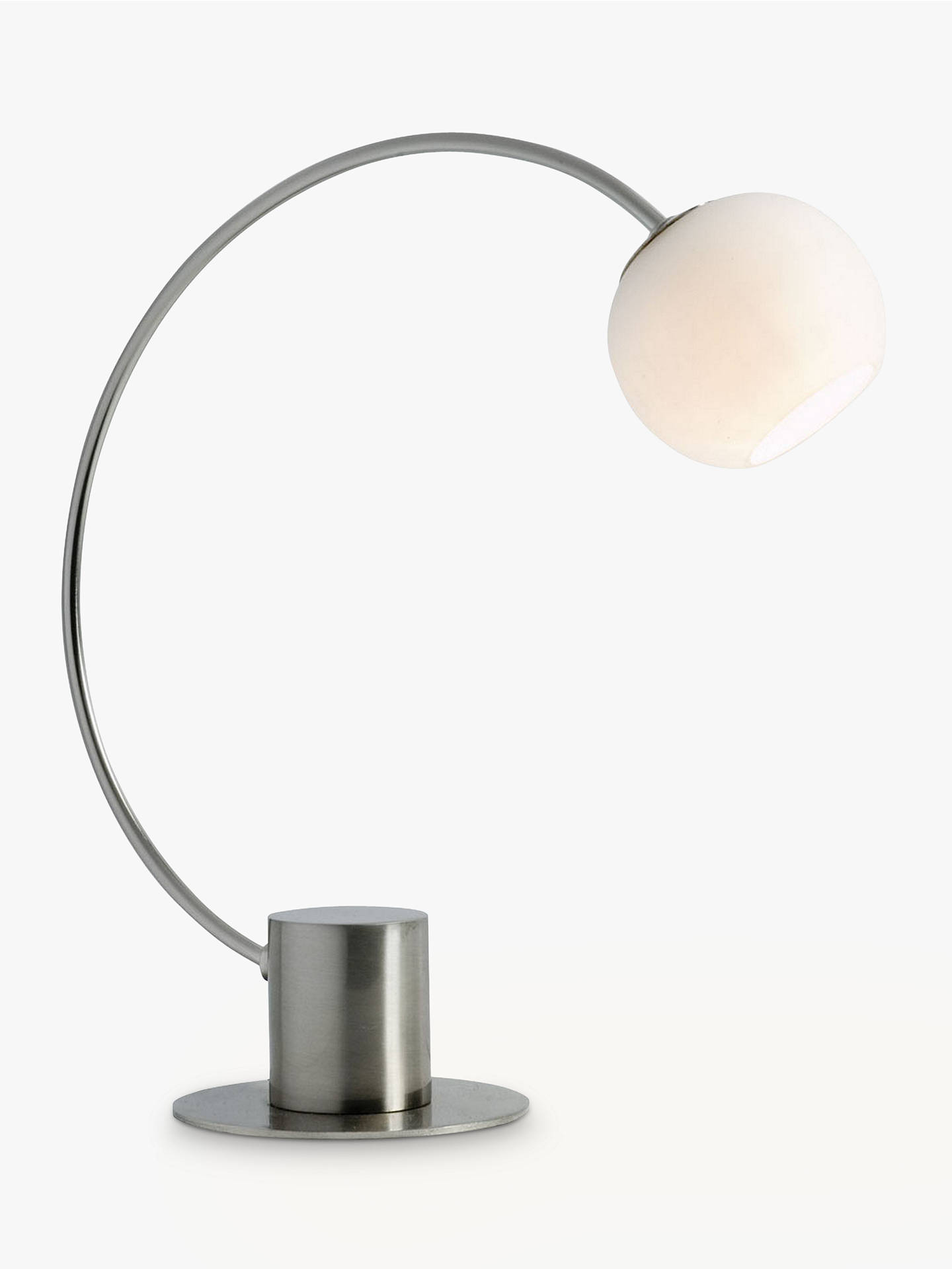 BuyJohn Lewis & Partners Helium Touch Table Lamp, Chrome Online at johnlewis.com