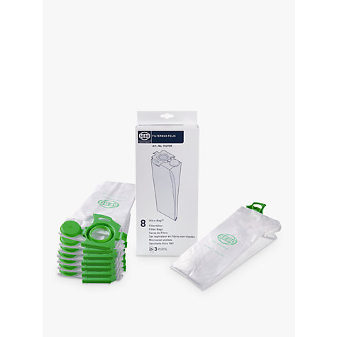 Buy SEBO 7029ER Felix Vacuum Cleaner Bags, Pack of 8 Online at johnlewis.com