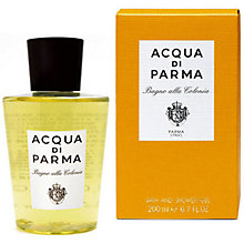 Buy Acqua di Parma Colonia Bath & Shower Gel, 200ml Online at johnlewis.com