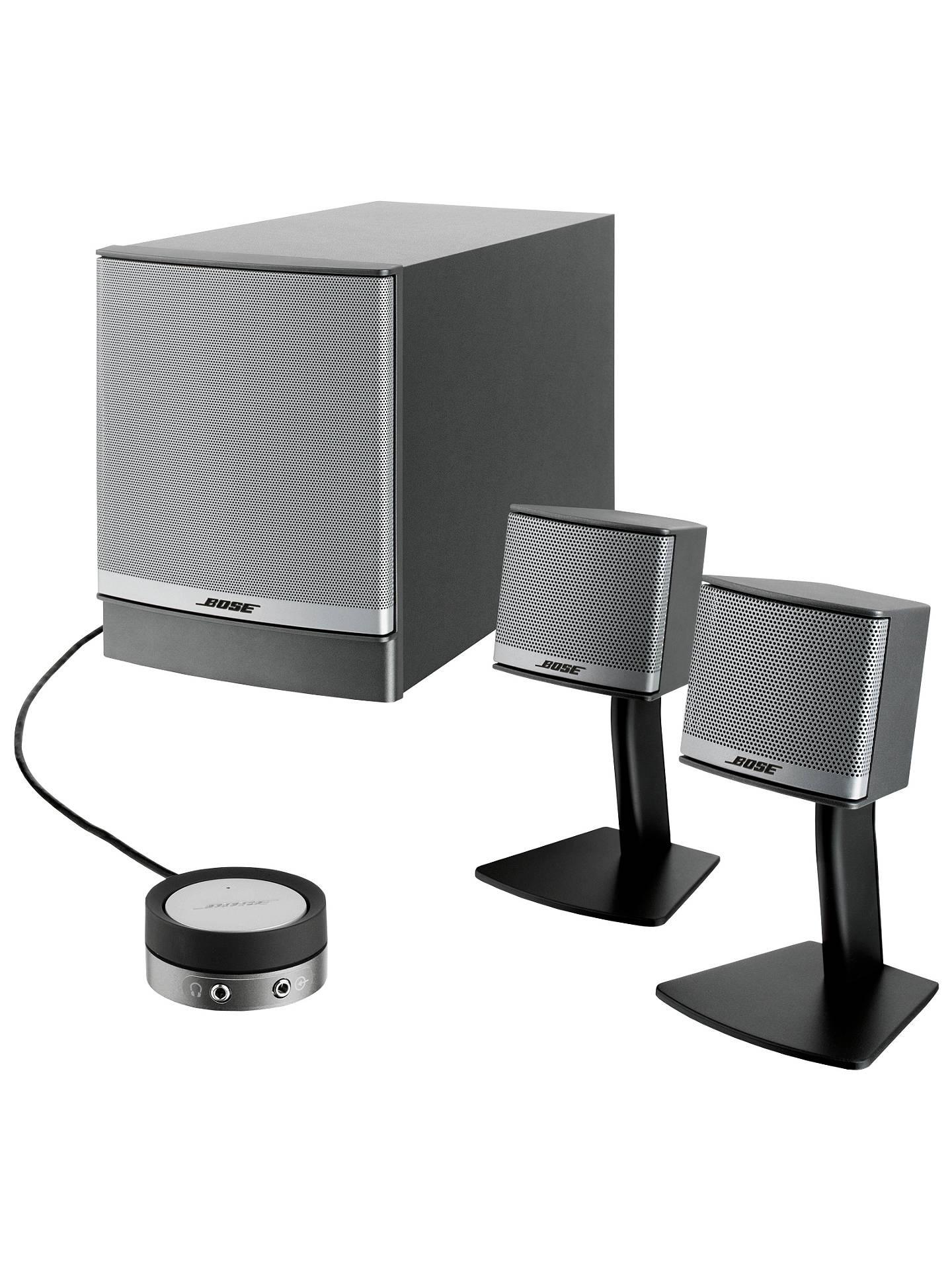 Bose U00ae Companion 3 Multimedia Speaker System At John Lewis