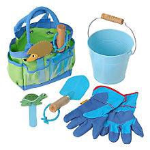 Buy Children's Garden Tool Kit, Blue Online at johnlewis.com