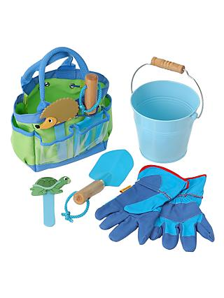 Children's Garden Tool Kit, Blue