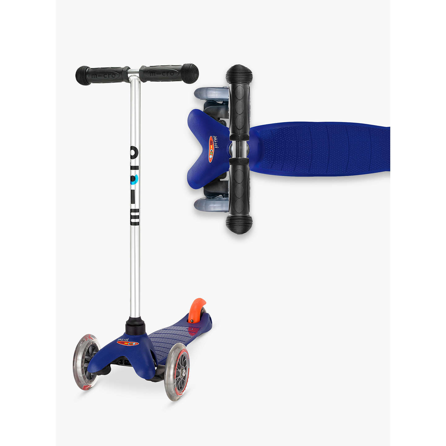 BuyMini Micro Scooter, 3-5 years, Blue Online at johnlewis.com