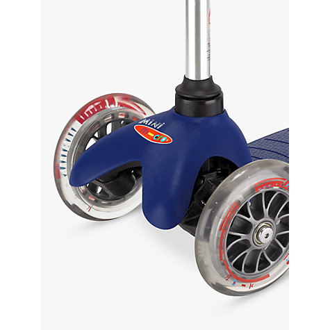 Buy Mini Micro Scooter, 3-5 years, Blue Online at johnlewis.com