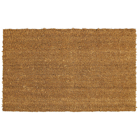 Buy John Lewis Coir Natural Door Mat Rug John Lewis