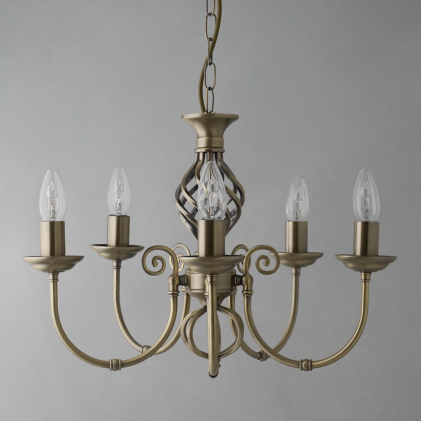 Buy john lewis malik chandelier 5 arm john lewis buy john lewis malik chandelier 5 arm online at johnlewis aloadofball Gallery