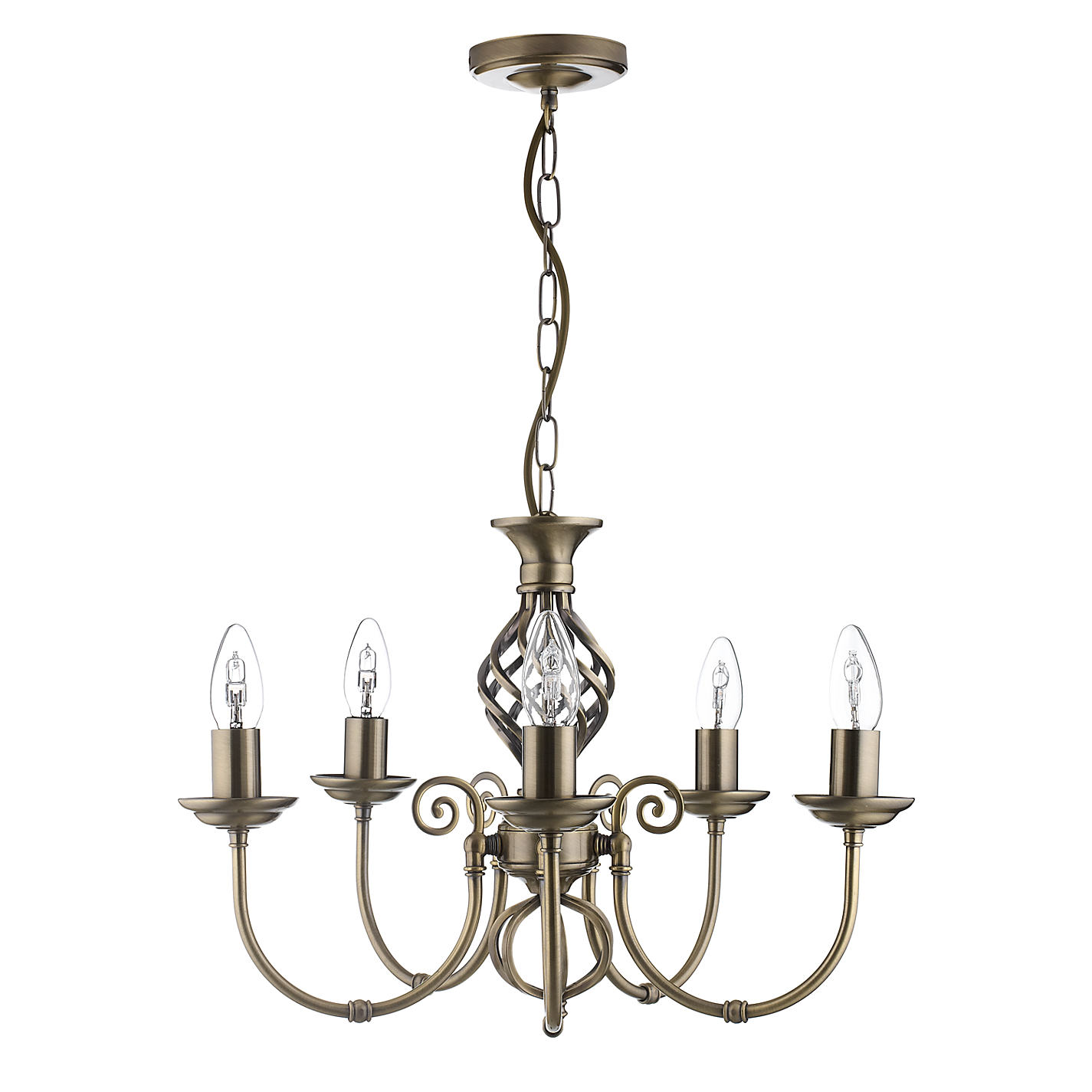 Buy john lewis malik chandelier 5 arm john lewis buy john lewis malik chandelier 5 arm online at johnlewis mozeypictures Gallery
