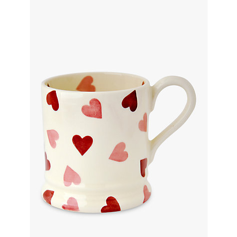 Buy Emma Bridgewater Pink Hearts Mug, Pink, 285ml Online at johnlewis.com