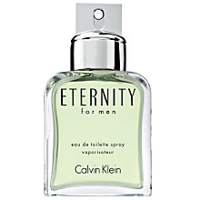 Buy Calvin Klein Eternity for Men, Eau de Toilette Spray Online at johnlewis.com