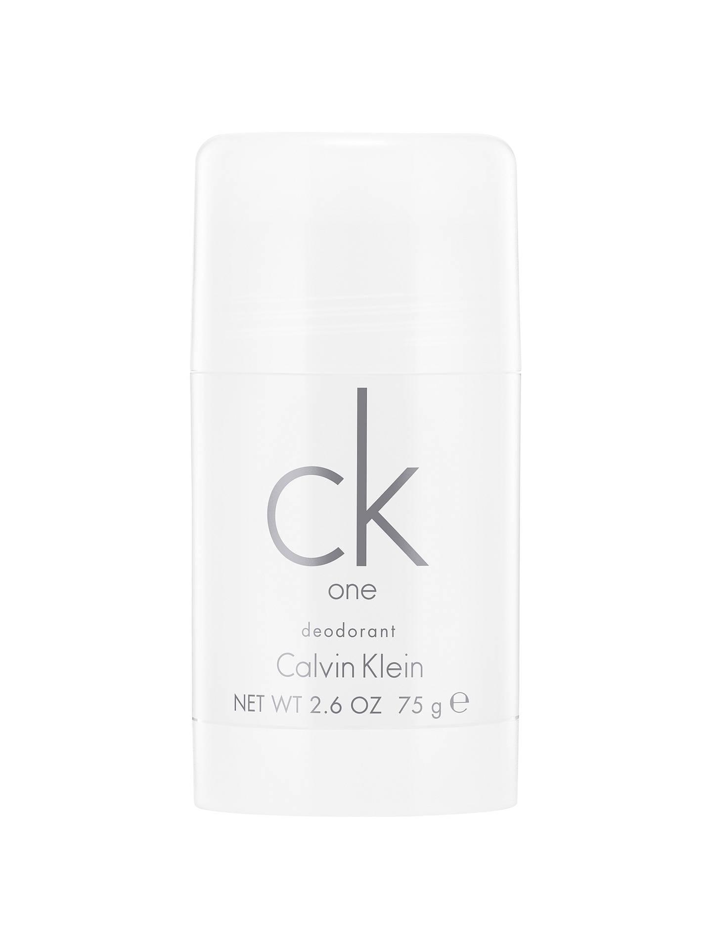 website voor korting topmerken 100% hoge kwaliteit Calvin Klein CK One, Deodorant Stick, 75g