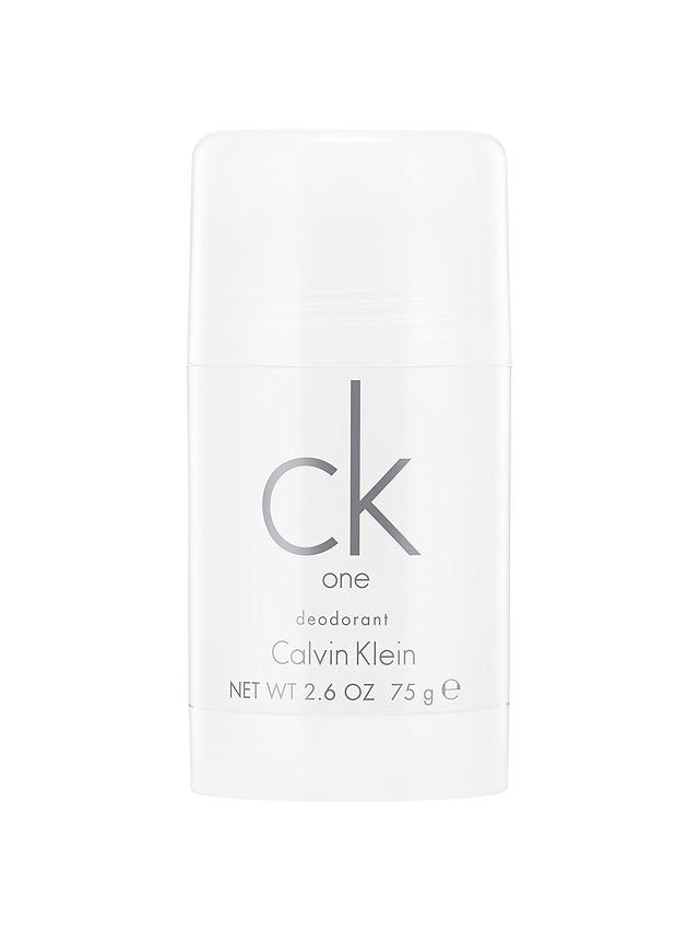 Buy Calvin Klein CK One, Deodorant Stick, 75g Online at johnlewis.com