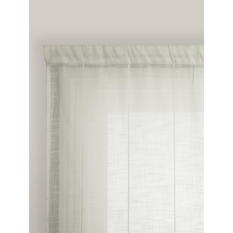 Buy John Lewis PVC Uncorded Curtain Tracks, up to L200cm | John Lewis