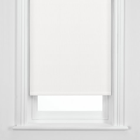 Buy John Lewis Blackout Roller Blind, White Online at johnlewis.com