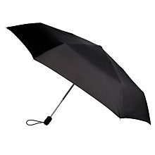 Buy Fulton Open & Close Superslim-1 Umbrella, Black Online at johnlewis.com