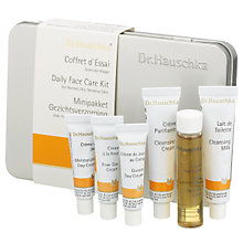 Buy Dr Hauschka Daily Face Care Kit, Normal/Dry/Sensitive Skin Online at johnlewis.com