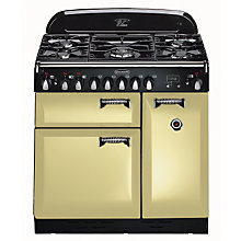Buy Rangemaster Elan 90 Dual Fuel Range Cooker, Cream Online at johnlewis.com