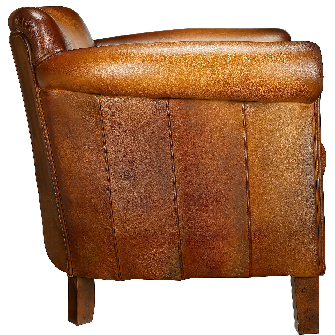 Buy John Lewis Camford Leather Armchair Buffalo Antique Online At Johnlewis
